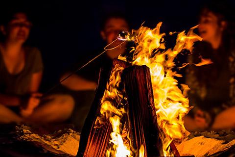 Familien Wildnis Pfingstcamp - Feuer machen