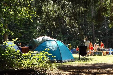 Familien Wildnis Pfingstcamp - Zelten mit der Familie