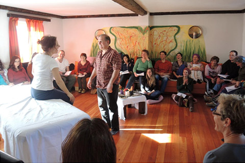 Faszientherapie James Tree Gilmore beim Athro-Workshop
